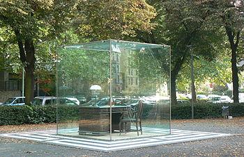 Deutsch: Schreibtisch von Adorno