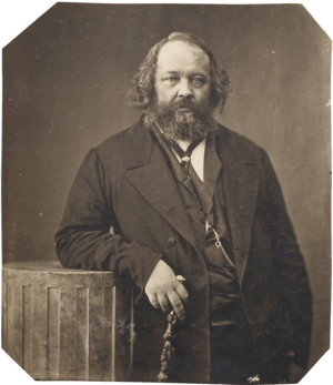 English: Mikhail Bakunin, russian Anarchist