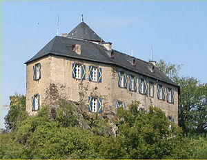 Castle Kreuzberg near Altenahr, Germany