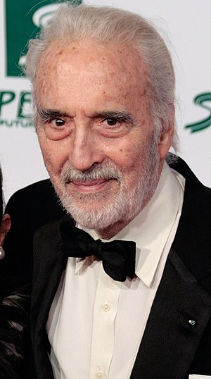 Christopher Lee at the Women's World Award 200...