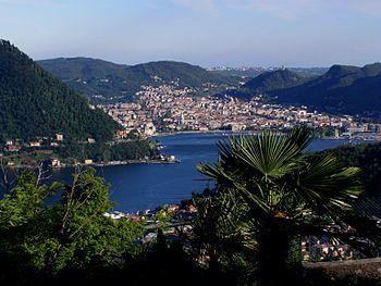 English: Lake Como: Como city (Italy) Italiano...