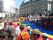 ...und beim Europride 2006 auf dem Piccadilly Circus in London