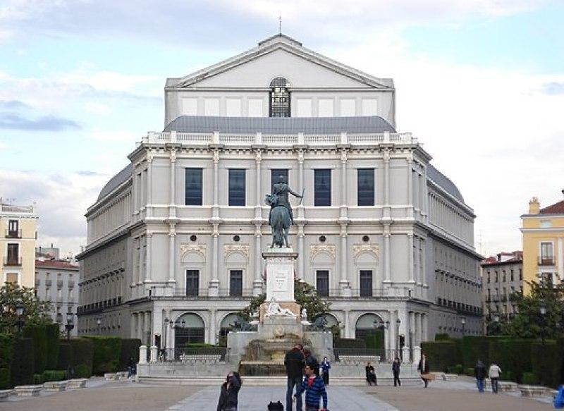 Fachada Teatro Real