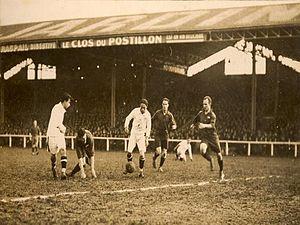 Arthur Friedenreich, 1925, (Stade Français - C...