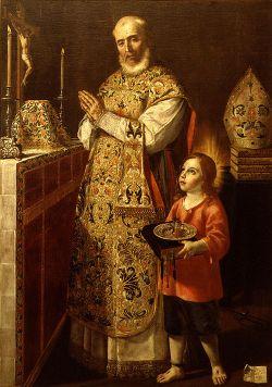 sveti Peter Pascual - škof in mučenec