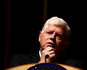 U.S. Representative John B. Larson at a