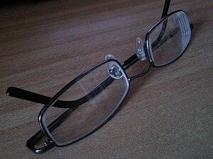 optic glasses Français : lunettes de vues/optique