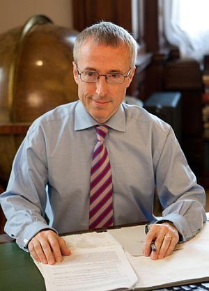 English: Martin Donnelly, Permanent Secretary ...