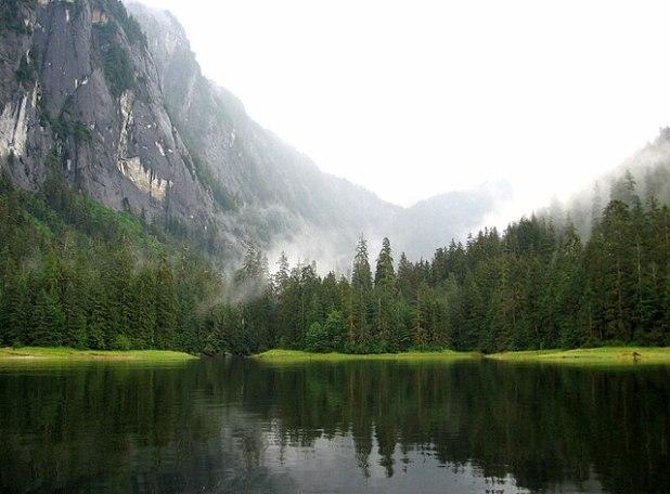 Misty Fjords National Monument, Alaska. Photo by Zarxos.