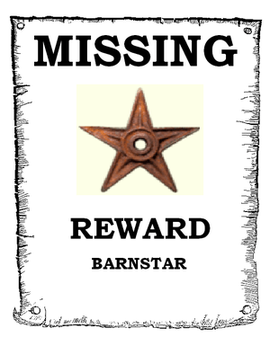 An image mimicking a missing persons poster