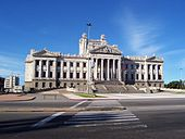 Palacio Legislativo, Montevideo.