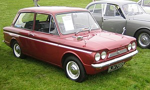 English: Singer Chamois (ie upmarket Hillman I...