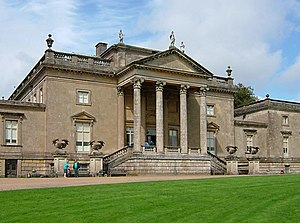 Stourhead House. Owned by the National Trust, ...