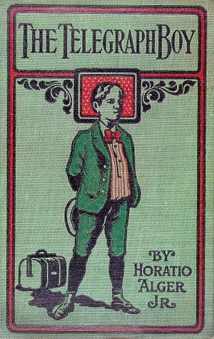 Cover of Horatio Alger, Jr.'s The Telegraph Bo...