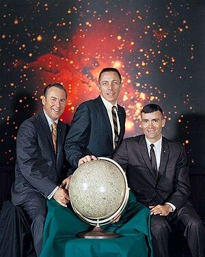 English: The actual Apollo 13 lunar landing mi...