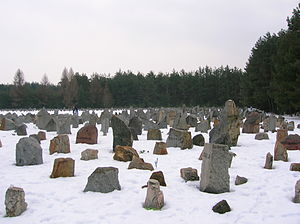 Treblinka's Memorial in Winter