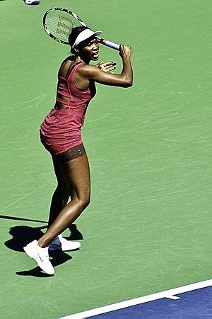 Venus Williams at the 2010 US Open
