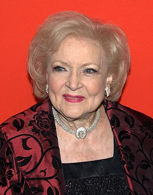Betty White at the Time 100 gala in 2010