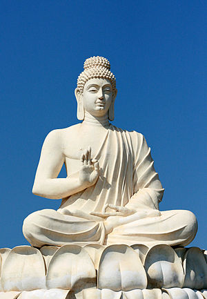 Buddha's statue located near Belum Caves, Andh...