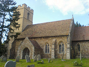 St Michael and All Angels Church, Caldecote, C...