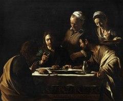 Artiste Le Caravage Année 1606 Technique Huile sur toile Dimensions (H × L) 141 cm × 175 cm Localisation Académie des beaux-arts de Brera, Milan