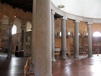 san stefano rotondo, rome (468-83 AD)
