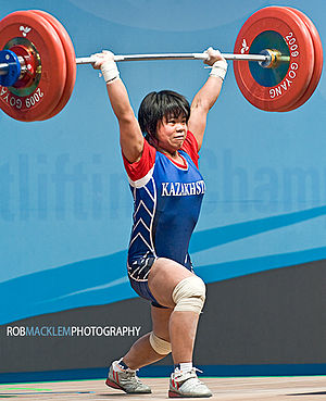 Zulfiya Chinshanlo World Champion 2009 53kg cl...