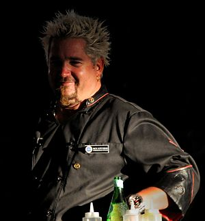 English: Guy Fieri is a cook, TV personality a...