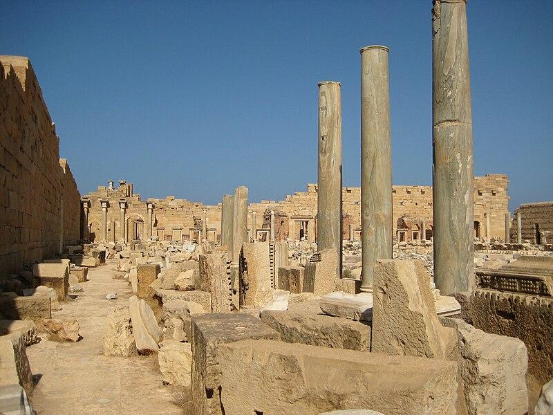 File:Forum leptis magna.JPG