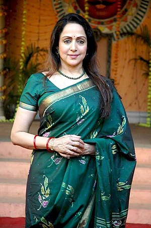 English: Bollywood actress Hema Malini