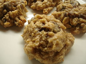 High Fiber Oatmeal Raisin Chocolate Chip Cookies.