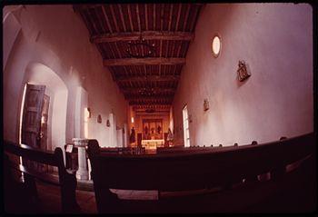 INSIDE THE MISSION SAN JUAN CAPISTRANO - NARA ...