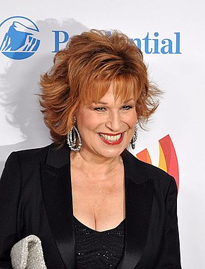 "Television personality Joy Behar of ""The ..."