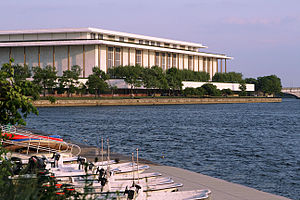the kennedy center on the potomac waterfront i...