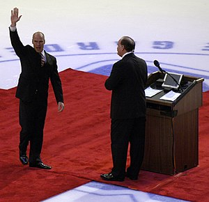 Retirement of Mark Messier, January 12, 2006