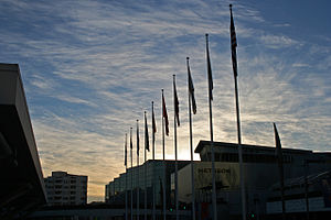 Moscone Convention Center in San Francisco, Ca...