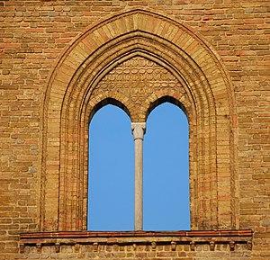 """Open sky"" bifora (San Francesco, Lo..."