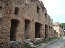An Insula Dating From The Early 2nd Century A D In Roman Port Town Of Ostia Antica