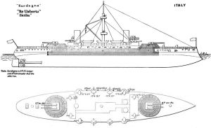 Italian ironclad Re Umberto  Wikipedia