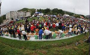 Română: Roșia Montană în Cartea Recordurilor