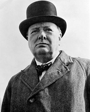 English: Sir Winston Churchill.