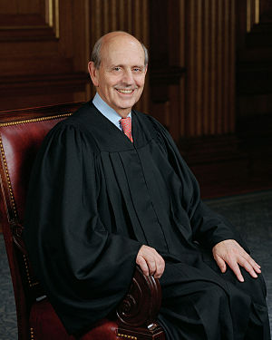 Stephen Breyer, U.S. Supreme Court judge.