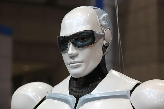 TOPIO 3.0 - Humanoid Robot at IREX 2009, Tokyo, Japan