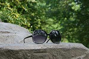 Womens' sunglasses.