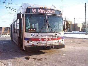 English: SEPTA New Flyer E40LFR
