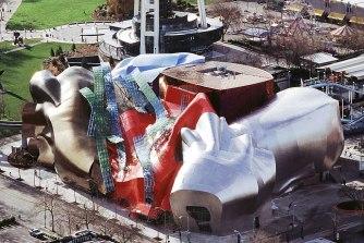 フランク・ゲーリーが設計した音楽の博物館 エクスペリエンス・ミュージック・プロジェクトの参考画像