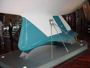 Winged keel from Australia II