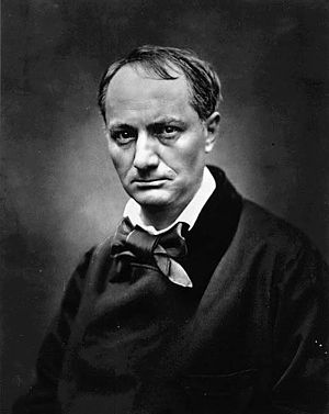 Charles Baudelaire (1821-1867), french poet of...