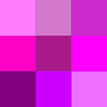 magenta couleur wikipedia