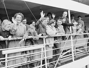 Migrant Arrivals in Australia - 50,000th Dutch...